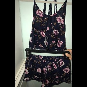 Other - Floral two piece set